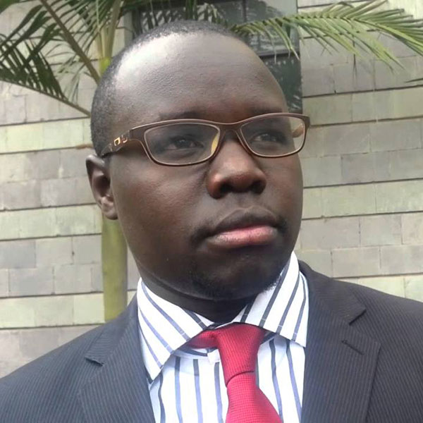 Dr Duncan Okubasu