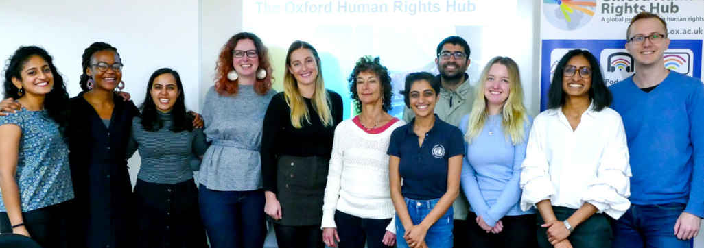 OxHRH Graduate Research Student Workshop 2021